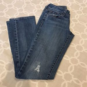 Old Navy Diva Jeans distressed